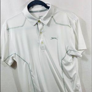 Slazinger Men's Small white tennis shirt